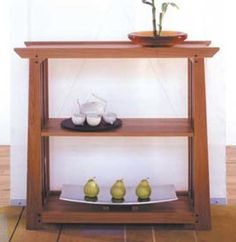 Arts and Crafts Shelves Woodworking Plan, Furniture Bookcases & Shelving
