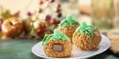 If this isn't the cutest Halloween treat recipe, I really don't know what is! If you are looking for Halloween treat and recipe ideas, this is the one. These Rice Krispie treats are colored ...