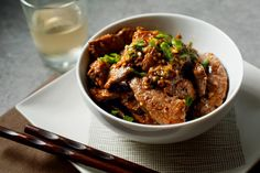 """This fragrant beef stir-fry is an adaptation of one found in Fuschia Dunlop's """"Revolutionary Chinese Cookbook,"""" whose subject is the food of Sichuan's less celebrated eastern neighbor, Hunan province Cumin, a spice rarely used in Chinese cooking, chiles, chile flakes and garlic create a heated yet sophisticated flavor profile."""