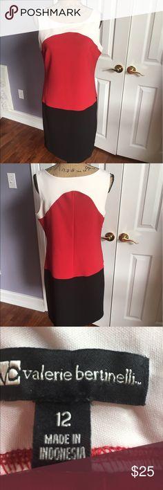 Colorblock Valerie Bertinelli Career Work DRESS Perfect condition! Valerie Bertinelli Dresses