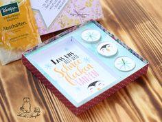 DIY Geschenkset für die Mama / Basteln via Print & Cut mit dem Schneideplotter / Vorlage Wellnessbox