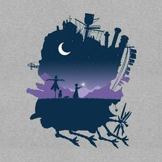 Howl's Moving Castle - adorable fan art