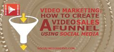 General revenue, Improve trust, Personalize experience. The benefits of video marketing is multipurpose on social media. Discover how to create a video sales funnel using these social channels