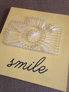 How to Make String Art Patterns with Silhouette ~ Silhouette School Need great ideas concerning arts and crafts? Head out to our great website! String Wall Art, Nail String Art, String Art Templates, String Art Patterns, Silhouette School Blog, Silhouette Cameo Projects, Silhouette Studio, How To Make Diy, Craft Night