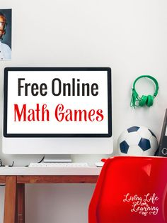 If you need math help send your kids to the computer to play these free online math games for kids as they learn and have fun. Computer Games For Kids, Math Games For Kids, The Computer, Gaming Computer, Online Math Courses, Learn Math Online, Life Learning, Learning Games, Math Help