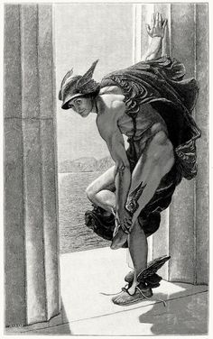 William Blake Richmond 1886 Hermes, a.k.a. Mercury...