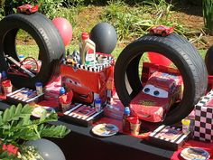 Cars birthday ideas