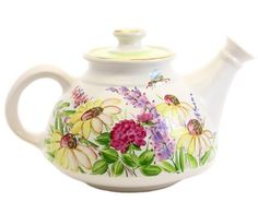 'The Flower Collection' Handmade Ceramic Teapot | Catalogue of St Elisabeth Convent