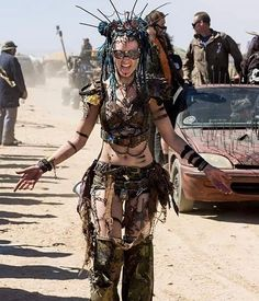 #WCW !!!  The Dolls bonded with the beautiful @livingdreaddoll Anja this past #wastelandweekend . We love this post apocalyptic sister from @triberiot and the European post-apocalyptic scene. If you want to see some amazing outfits check out our girl Anja and Tribe Riot!  #madmax #wastelandbeauty #treaderclan #triberiot #afterus #livingdreaddoll #postapocalyptic #demoltiondolls