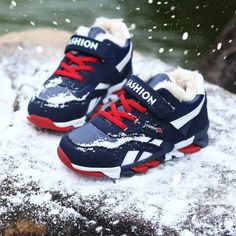 The new sports shoes children winter sports shoes and girls boys slip thick warm cashmere Gym shoes Suitable for years old Sports Shoes, Boys Shoes, Kids Sneakers, Sneakers Nike, Winter Kids, Winter Sports, 16 Year Old, Childrens Shoes, Slip