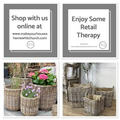 Autumn Window Display Retail, Industrial Living, Rustic Farmhouse Decor, Baskets, Place Card Holders, Make It Yourself, Cabin Ideas, Place Cards, How To Make