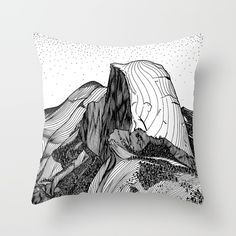 Half Dome Throw Pillow by Christa Rijneveld. Worldwide shipping available at Society6.com. Just one of millions of high quality products available.