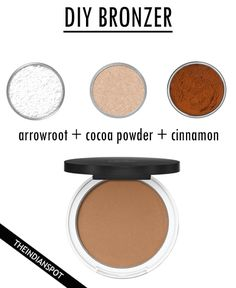 DIY FOUNDATION Start with a base of arrowroot powder tsp. for dark skin – - DIY FOUNDATION Start with a base of arrowroot powder tsp. for dark skin – 1 Tbs. for light skin - All Natural Makeup, Organic Makeup, Natural Skin, Natural Beauty, Braided Updo Tutorial, Diy Makeup Powder, Diy Foundation, Homemade Foundation, Drugstore Foundation