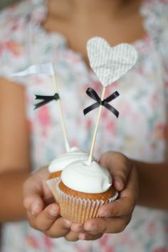 """""""di cuore""""  caramel cupcakes"""