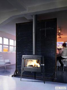 Poêle Fonte Luna   Invicta, spécialiste européen du chauffage au bois (dont un catalogue fourni en poêle à bois et foyers-inserts)
