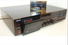 AKAI GX-8 Cassettedeck 3 Head/ 3 Motor Closed-loop Dual Capstan Dolby-B and dbx! NR (Collectioned at mint condition) - www.remix-numerisation.fr - Transfert Numérisation restauration audio