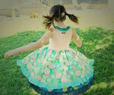 Cake Walk Tank Dress from Matilda Jane Clothing! Such a cute dress, every little girls dream!