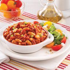 Sauté de haricots blancs aux saucisses - Soupers de semaine - Recettes 5-15 - Recettes express 5/15 - Pratico Pratique