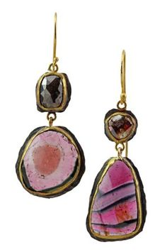 Margery Hirschey earrings at Gallery of Jewels, San Francisco