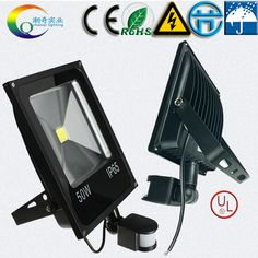 10w20w30w50w70W100W led floodlights led search light ourdoor lamp PIR Motion sensor Induction LED flood light AC220VAC110V DC12V