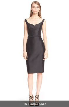 Reem Acra Sculpted Sheath Dress (In Stores Only) available at #Nordstrom