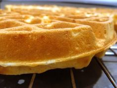 Sunday Best: Homemade Waffles - In Jennie's Kitchen. Be sure to whip up the eggs, it makes the waffles super light and fluffy. My kids absolutely loved these waffles!