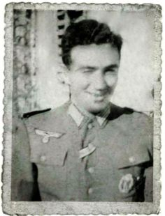 "The captured OSS agent who convinced an entire German Army to surrender!  |  2nd Lt. Frederick Mayer, the real ""inglorious basterd,"" impersonating a Nazi officer behind enemy lines during World War II with the Office of Strategic Services (OSS).  (PRNewsFoto/The OSS Society, Inc.)  http://www.warhistoryonline.com/living-history-news/the-captured-oss-agent-who-convinced-an-entire-german-army-to-surrender.html"
