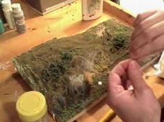 ▶ Diorama making: Tufts of Grass tutorial - YouTube