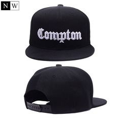 Compton Snapback Hats All Wine Red 2a9e57ee382