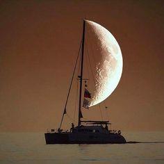 set sail to the moon