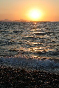 Sunset in Kipriotis Village