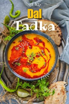 Indian Dhal Recipe, Dal Recipe, Chaat Recipe, Curry Recipes, Snack Recipes, Snacks, Delicious Recipes, Indian Food Recipes, Asian Recipes