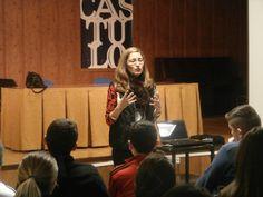 IX encuentro con autor. Rosa Huertas.