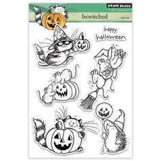 Penny Black 30318 Bewitched Transparent Decorative Rubber Stamp Set -- Click image for more details.