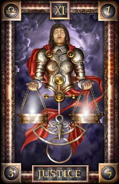 - Tarot of Dreams - Justice