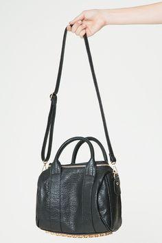 Brandy ♥ Melville | Studded Bottom Mini Satchel - Bags - Accessories