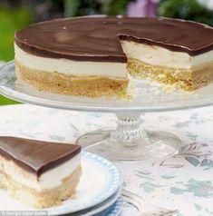 Mary Berry Millionaires Shortbread Cheesecake!