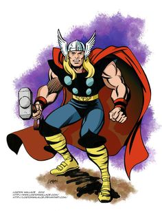 Classic Thor by LostonWallace on deviantART