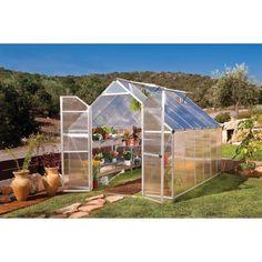 Essence Silver Greenhouse - 8'x12'