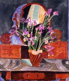 Henri Matisse - Vase with irises