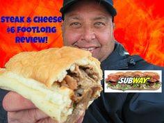SUBWAY® STEAK & CHEESE $6 FOOTLONG REVIEW!
