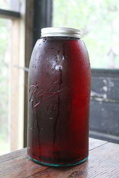 iced tea blueberry iced tea elderflower and earl grey iced tea ...