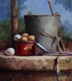 Kathy Tate   OIL                                   Cool Water and Fresh Eggs