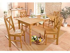 Home affaire , beige, 2 Stück, FSC-Zertifikat, House Inside, Outdoor Furniture Sets, Outdoor Decor, Beige, Log Homes, Table Settings, Dining Table, Table Decorations, Interior