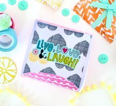 Use the Martha Stewart Circle Cutter to cut out 4 circles from 4 inches to 12 inches.  Glue them together to create these cute square envelopes perfect for card and small gifts! blitsy.com