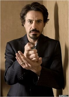 Robert Downey Jr. That's the scruff.