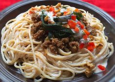 Un manjar mexicano hecho pasta: Espaguetis de chiles en nogada: Todos los sabores de un platillo ic
