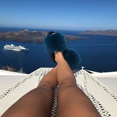 Comfy Slides are made for chillin' 😎👉🏻 the Cyan fur slides as seen on ✖️. Fluffy Sandals, Fluffy Slides, Fox And Rabbit, Fashion Slippers, Outdoor Fashion, Fur Slides, Fox Fur, Hot Pink, Best Gifts
