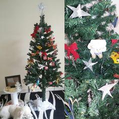 Continuação... Enfeites de Natal feito por mim.