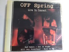 Offspring Live in Concert CD for sale $3-$5 in Vancouver BC on the PeerRenters app download on the app store.
